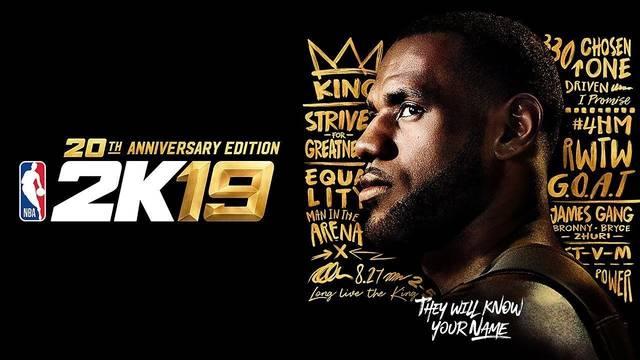 Con LeBron de estrella, anuncian el nuevo NBA 2K19