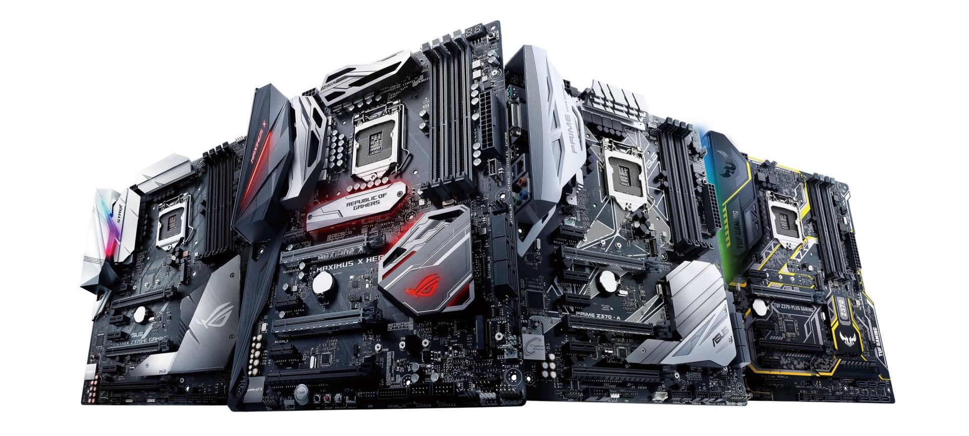 Asus revela su nueva línea de motherboards: los Z390 están a la vuelta de la esquina y son impresionantes