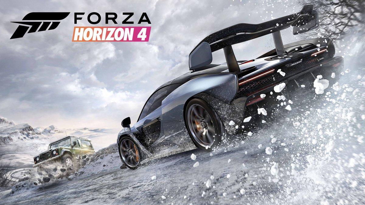 Forza Horizon 4 nos muestra una hora de gameplay en la nieve