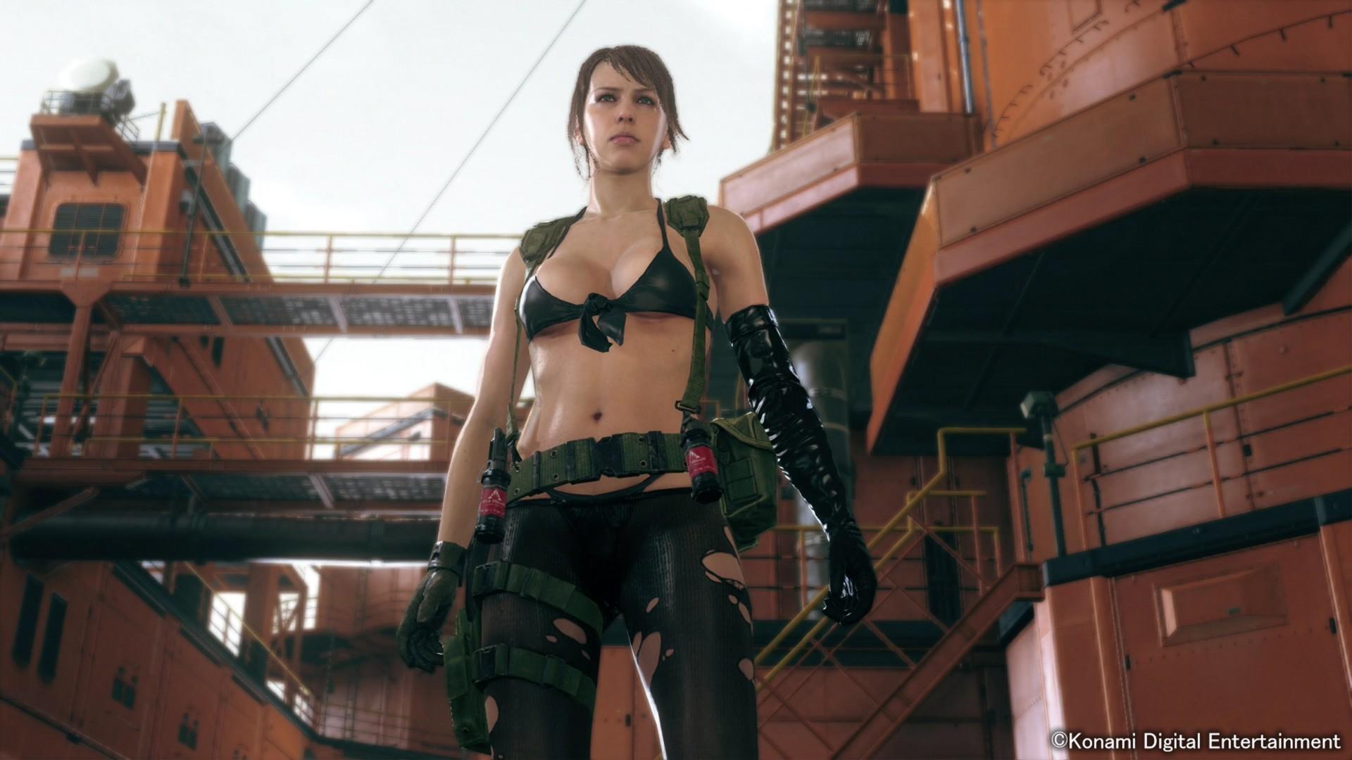 Ahora sí se puede jugar como Quiet en Metal Gear Solid V The Phantom Pain