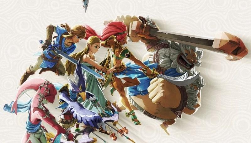 """The legend of Zelda Breath of the Wild se ve más vivo que nunca en """"Creating a champion"""": así será el paquete especial del próximo libro"""