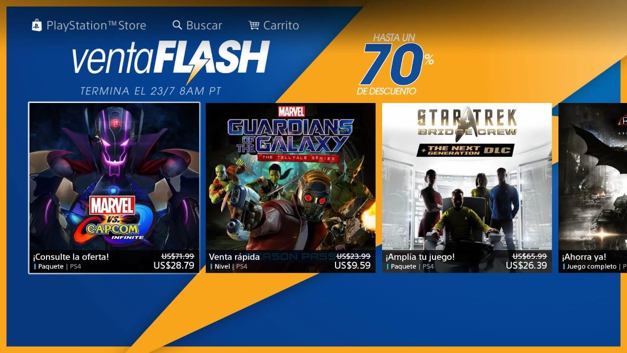 Flash sales: un repertorio de ofertas y descuentos para los fanáticos de la Play