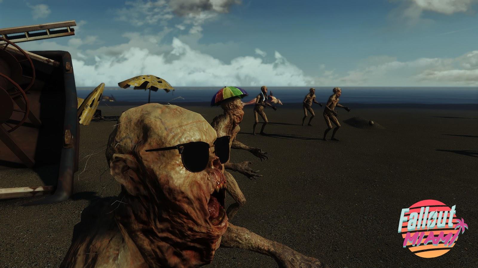 Fallout: Miami, el inmenso mod de Fallout 4, tiene nuevo tráiler