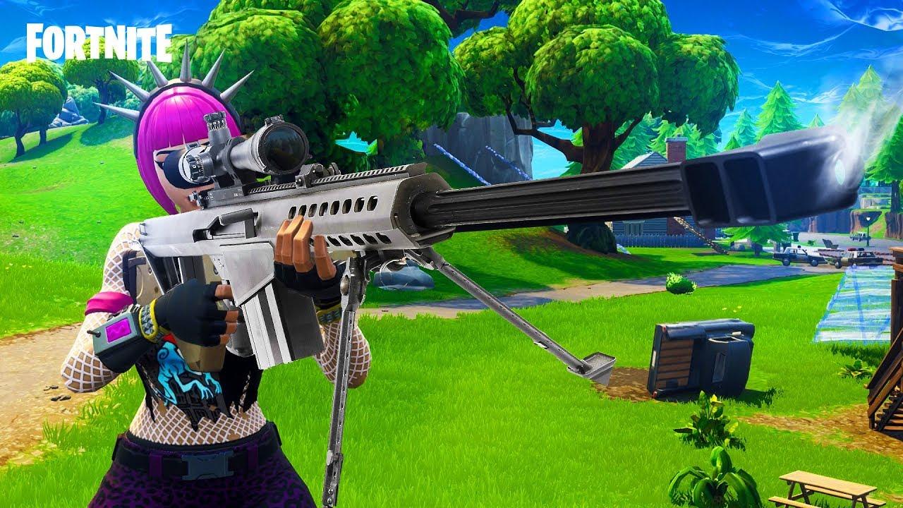 Se filtra un nuevo rifle sniper en Fortnite