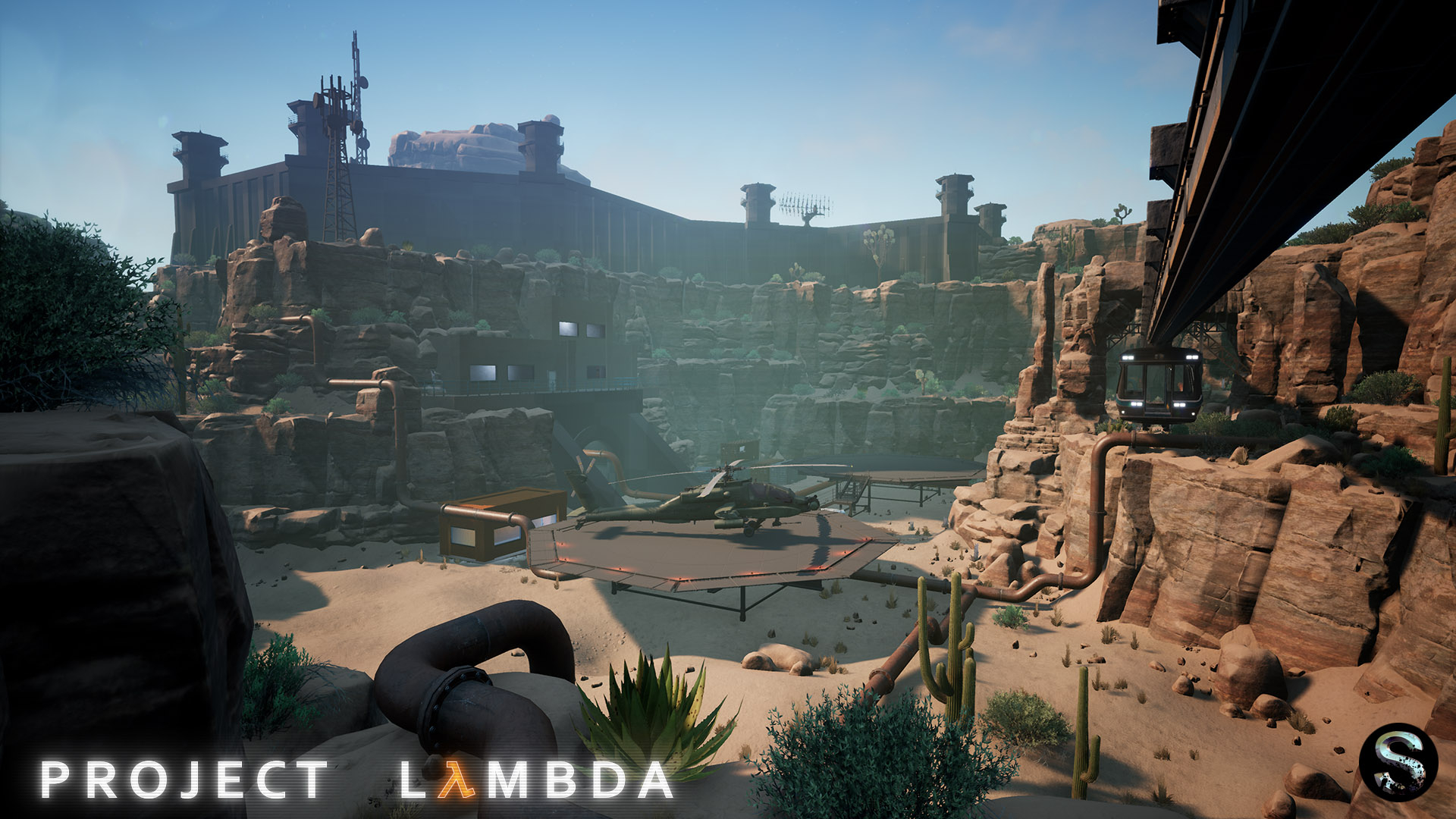 Project Lambda, el espectacular mod de Half-Life con Unreal Engine 4