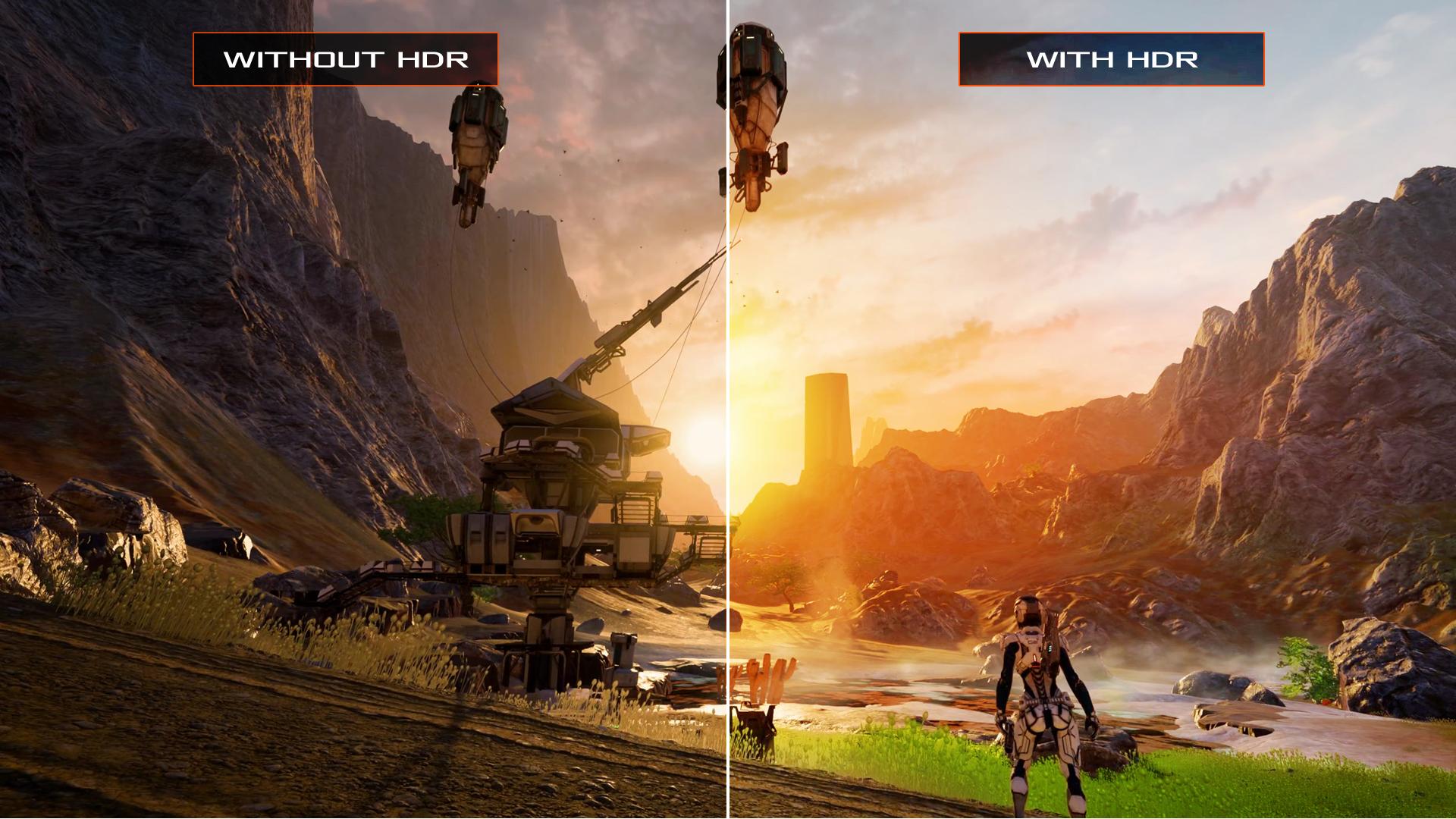 Una alianza de empresas de videojuegos y televisores quiere unificar el estándar HDR