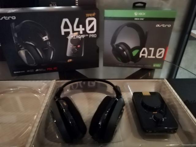 Astro A 40 y Astro A 10, los nuevos auriculares de la línea Astro Gaming