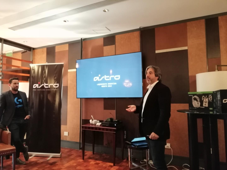 Logitech trajo los auriculares Astro Gaming a la Argentina