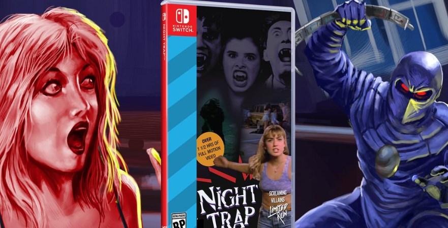 Las novedades de la semana del 20 de agosto: titanes robóticos que llevan pizza y el polémico Night Trap de los 90