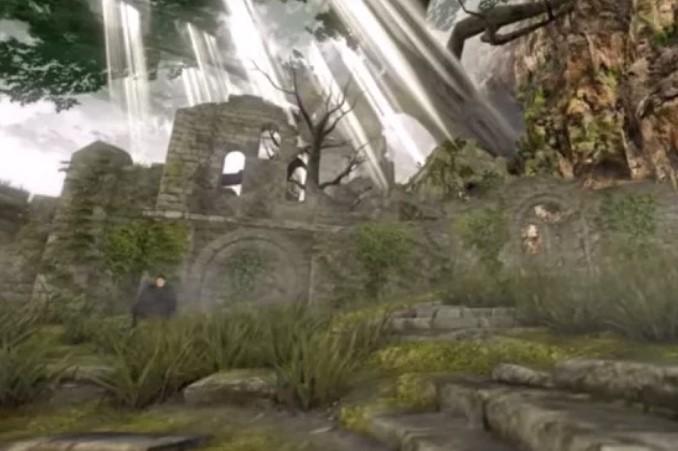 Dark Souls Remastered también puede ser un lugar de luz: un mod cambia la estética del juego y se ve muy raro
