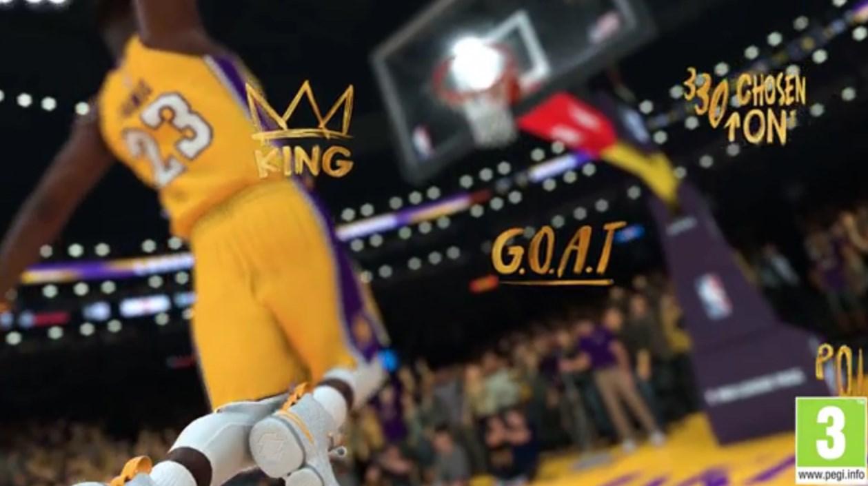 NBA 2K19: así luce LeBron James con Los Angeles Lakers