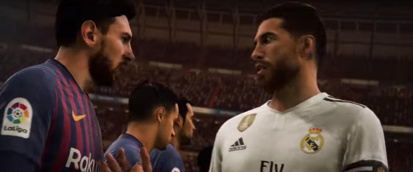 Adelanto FIFA 19: La Liga española, sus estadios y figuras, en todo su esplendor