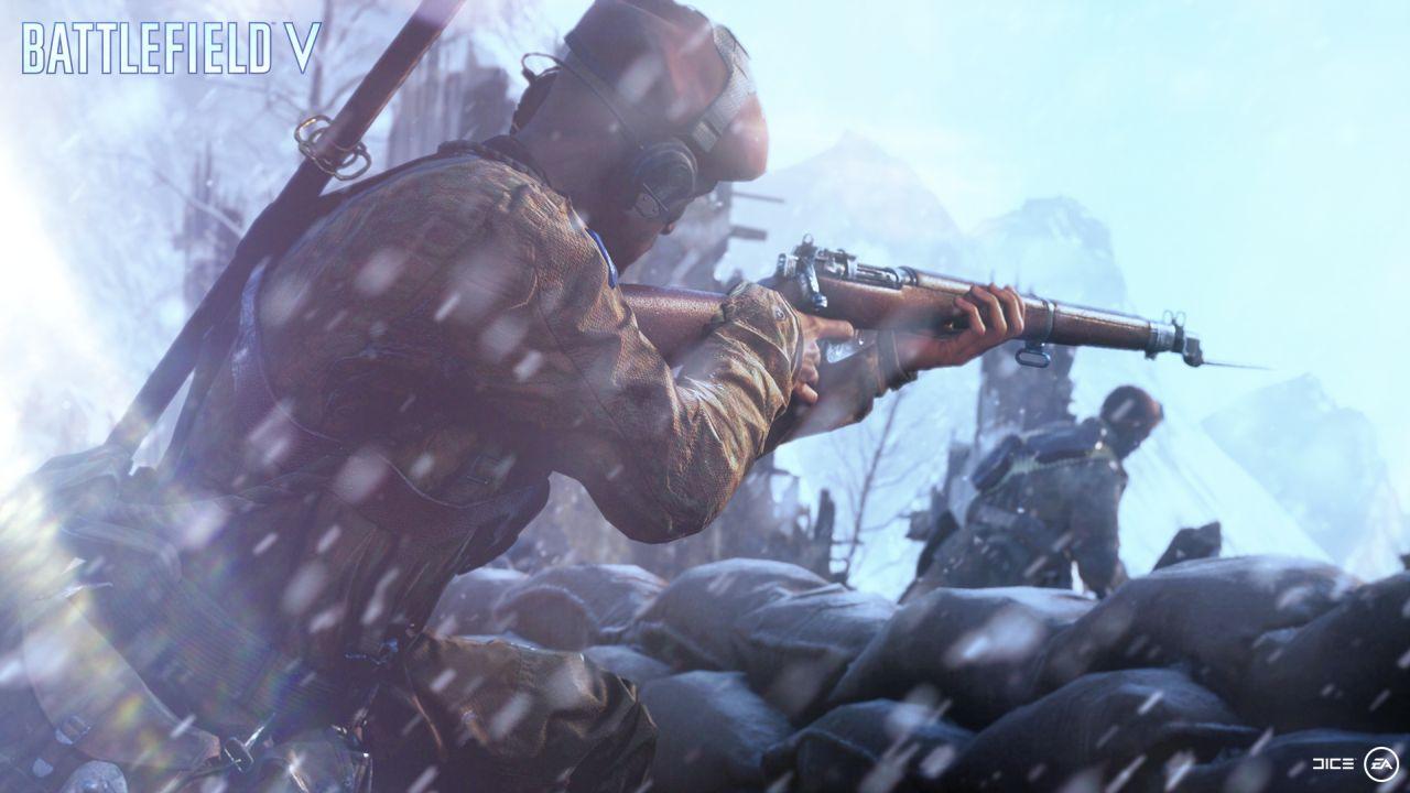 Habrá que esperar para poder jugar Battlefield V igual que lo vimos en el tráiler