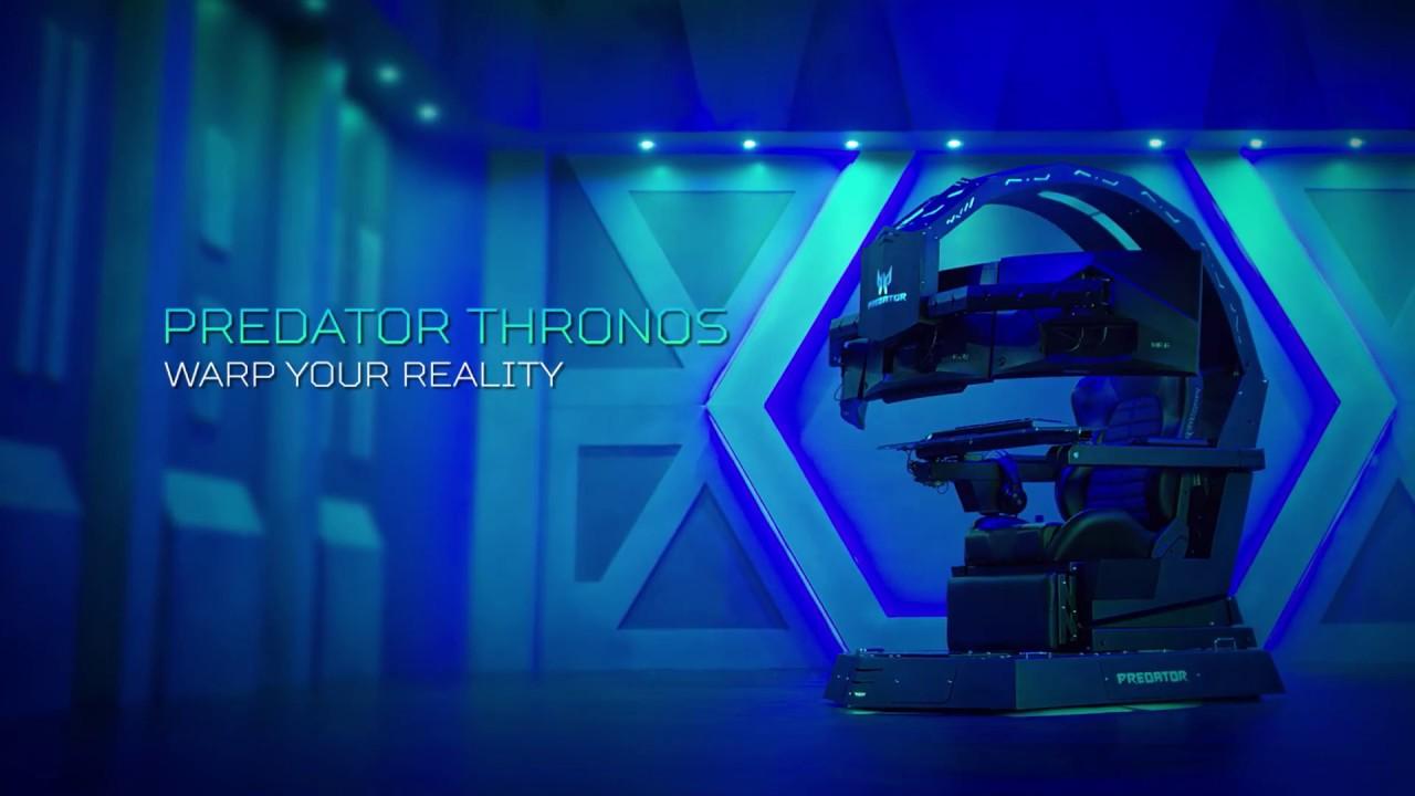 La impresionante Predator Thronos, la silla gamer que Acer presentó en IFA 2018