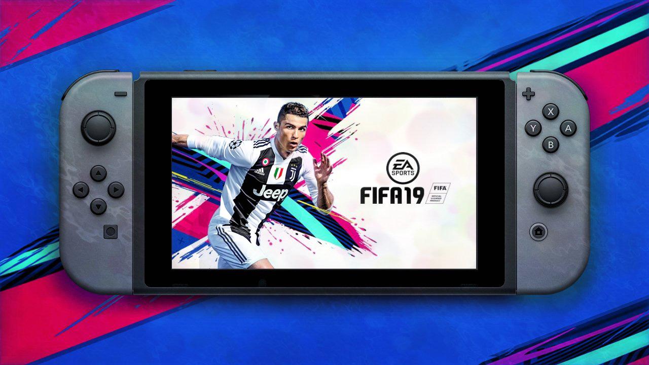FIFA 19 y la Champions League en un video de gameplay para Nintendo Switch