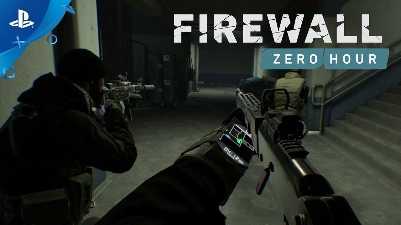 Firewall Zero Hour, un juego exclusivo de PSVR, nos muestra sus primeros dos trailers
