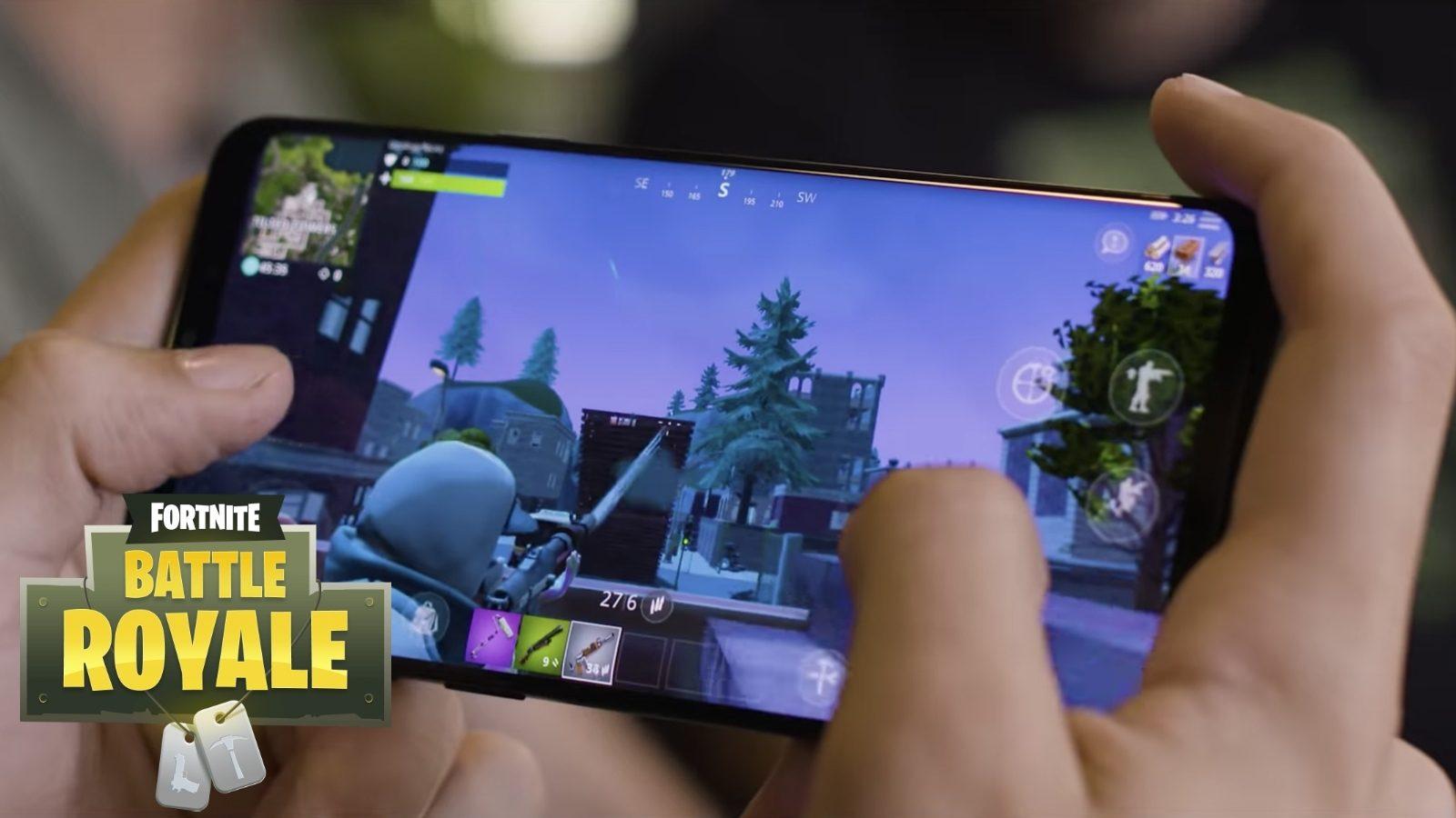 Se filtra un gameplay de 5 minutos de Fortnite corriendo en Android