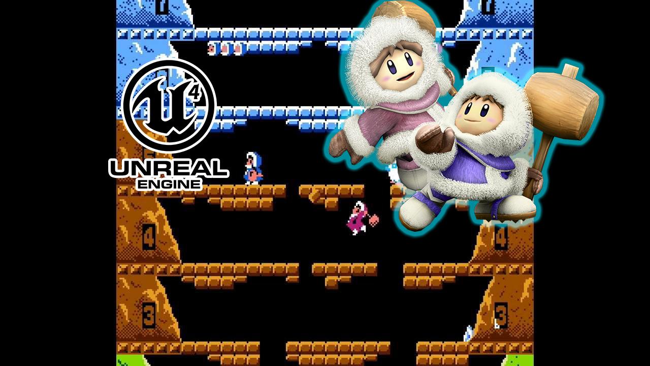 Ice Climber: De la NES en 1985 al Unreal Engine 4 en 2018