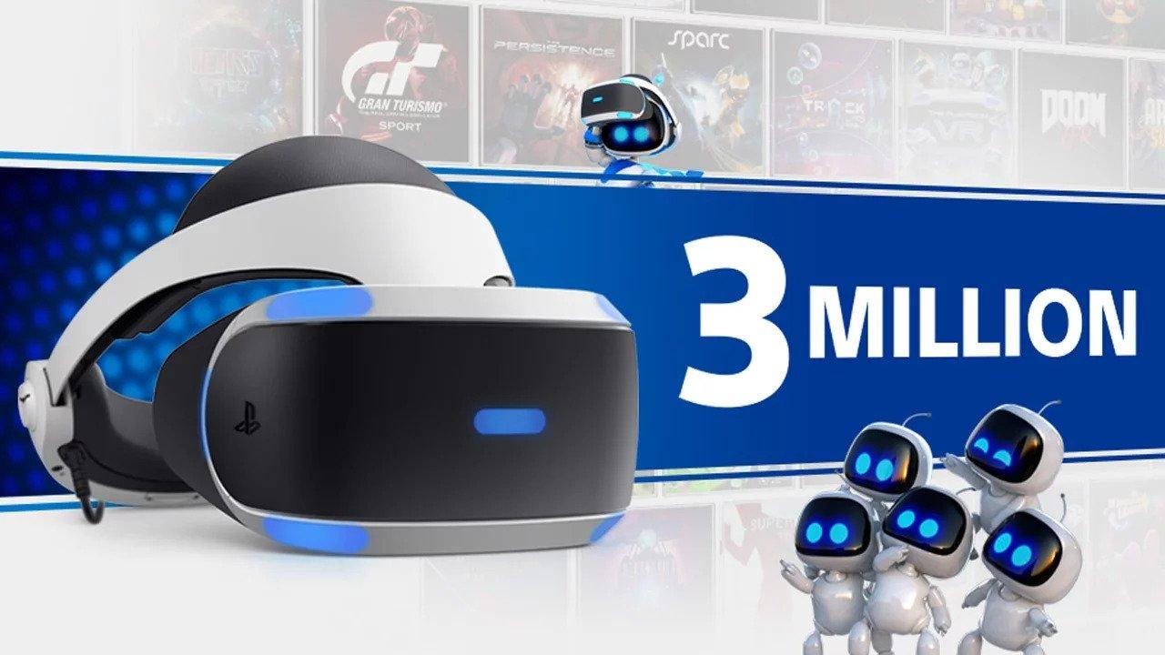 Playstation VR ya supera las 3 millones de unidades vendidas en todo el mundo