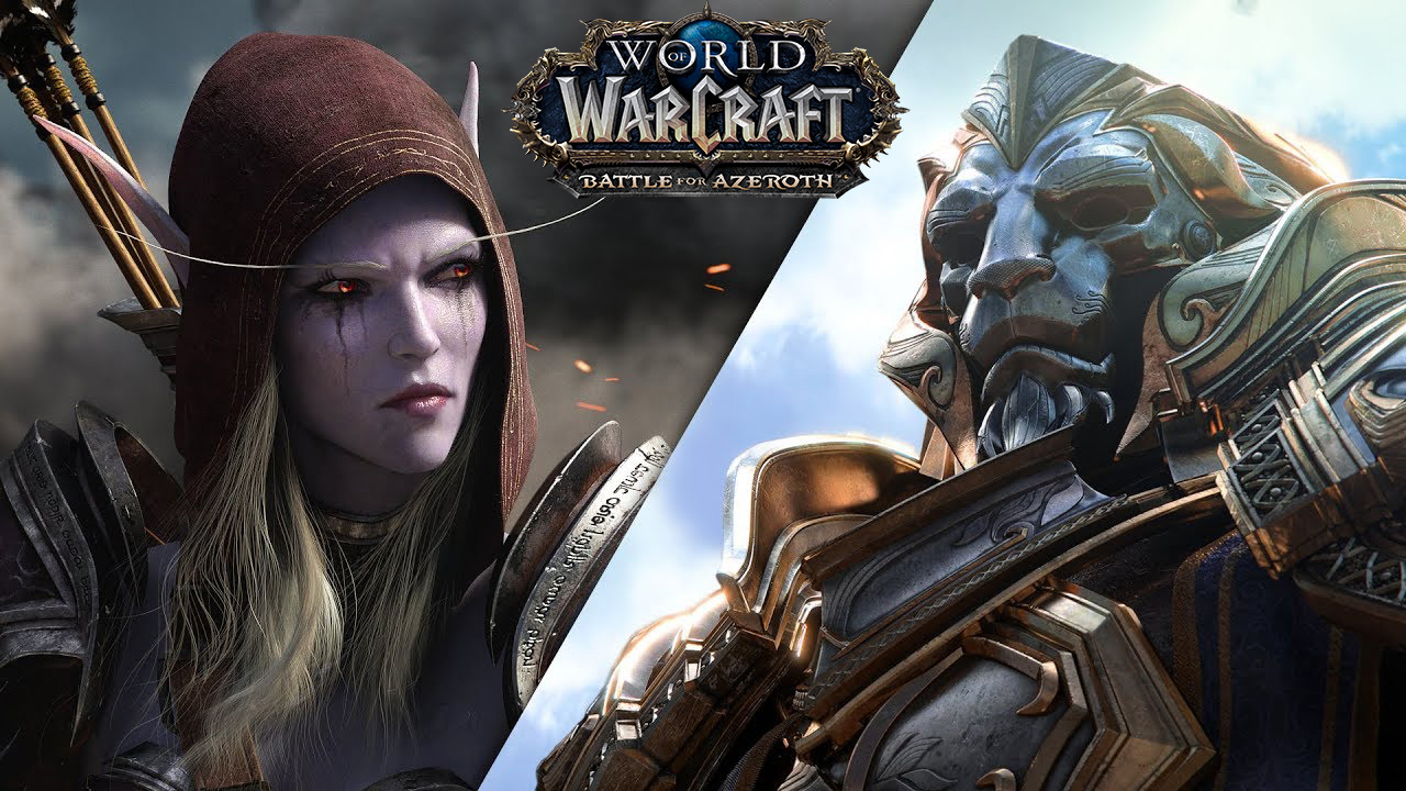 Nuevo tráiler cinemático de World Of Warcraft: Battle For Azeroth