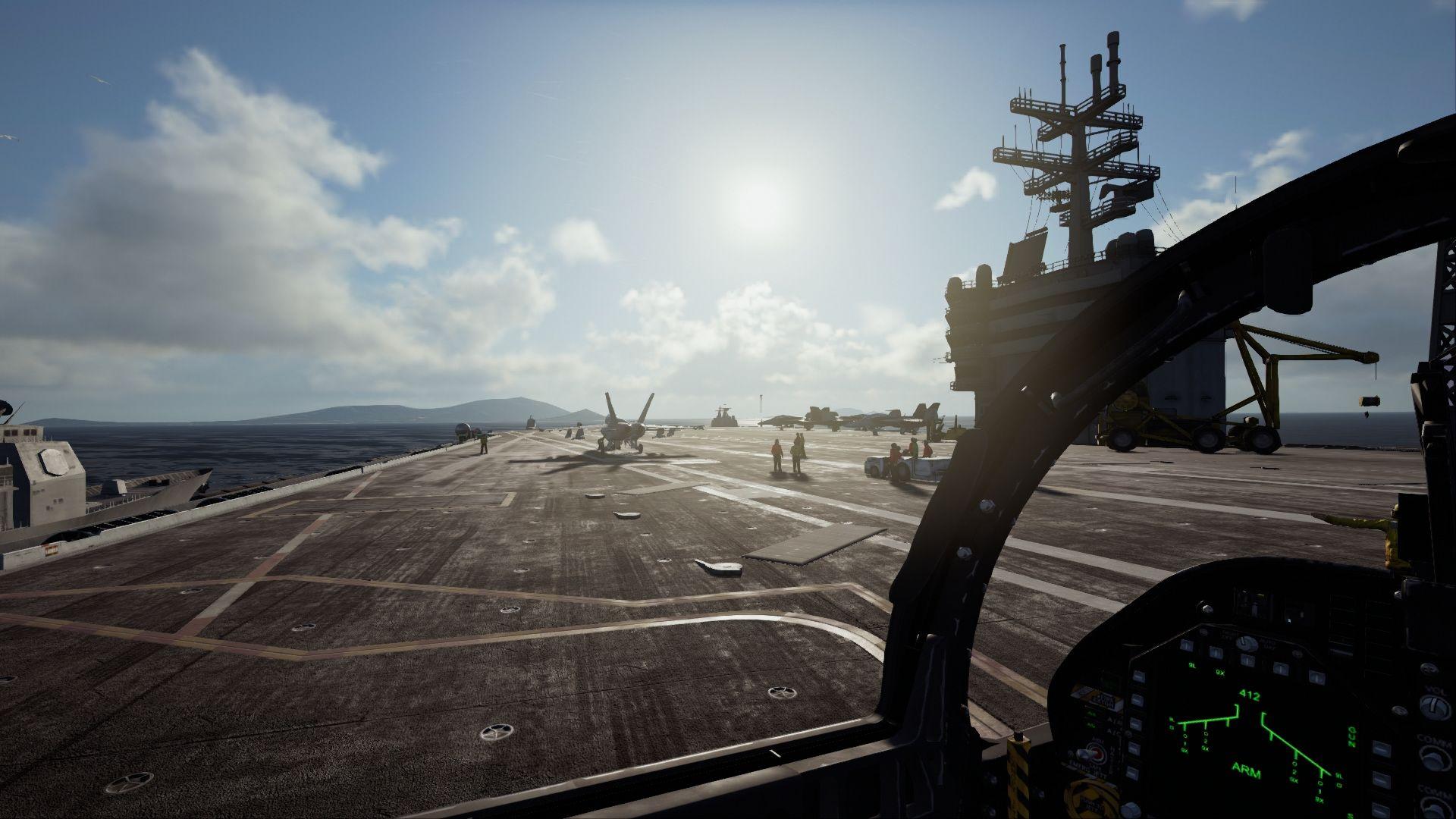Nuevas imágenes de Ace Combat 7, la gran apuesta para PlayStation VR