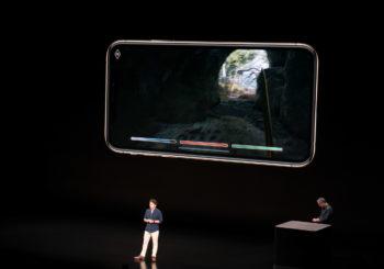 Todd Howard de Bethesda participó de la presentación de Apple y mostró un adelanto de Elder Scrolls: Blades