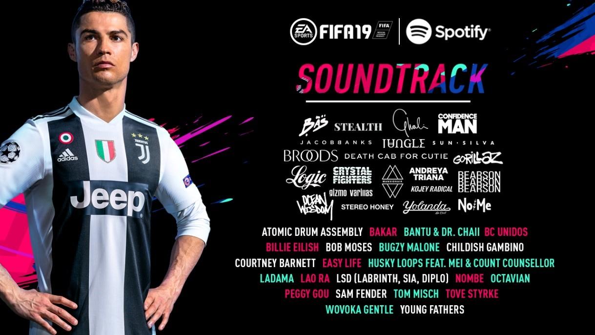 FIFA 19 tendrá un soundtrack de lujo encabezado por Childish Gambino, Gorillaz y Logic