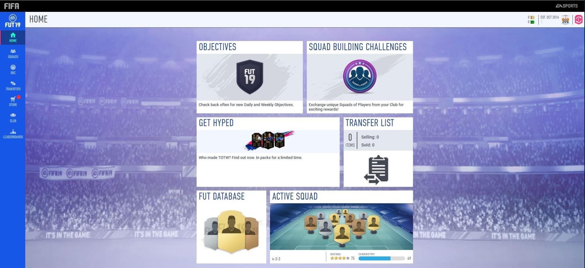 FIFA 19: EA habilitó la aplicación web del FUT y ya hay locura por Messi y Cristiano Ronaldo
