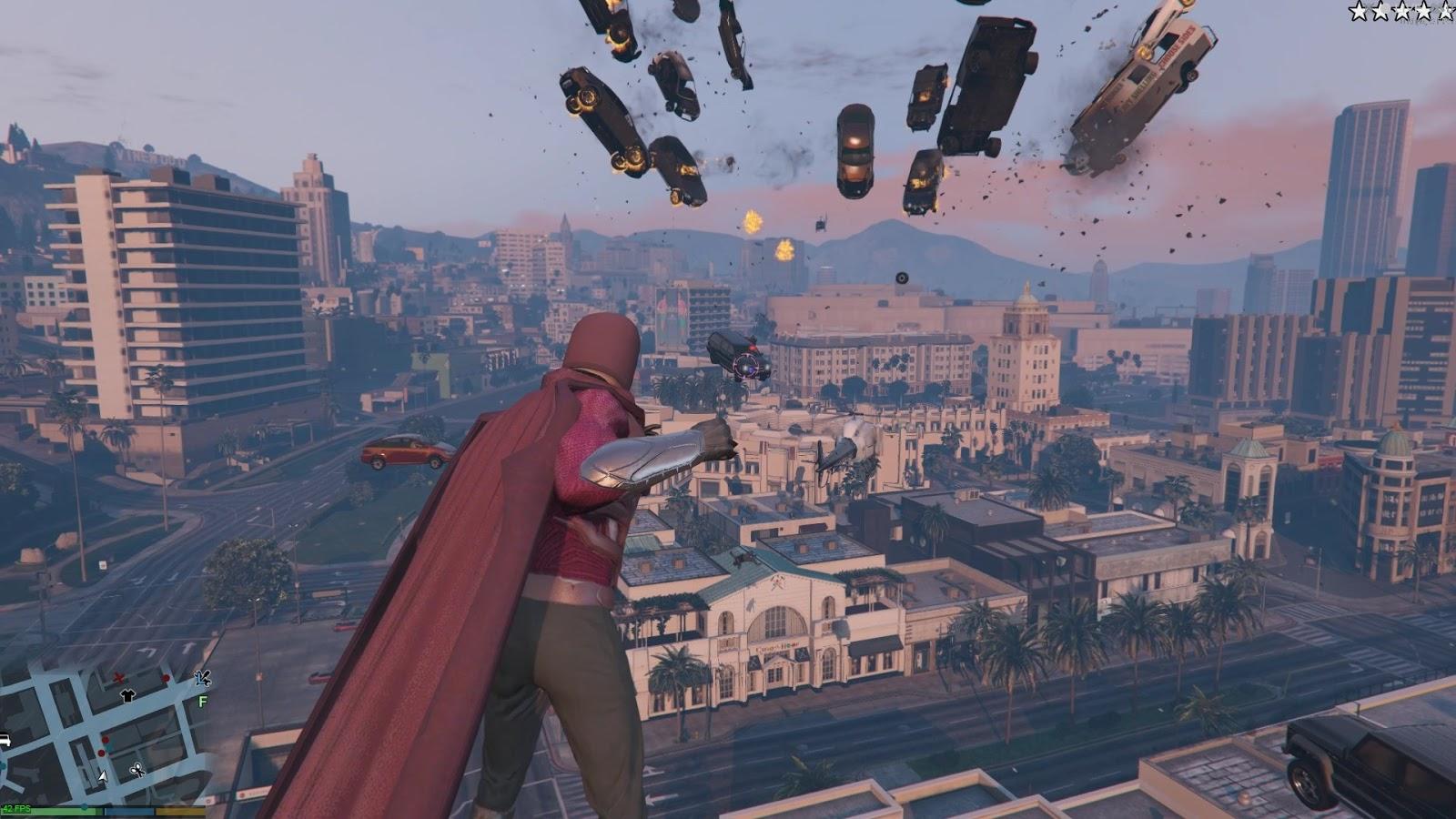 Este increíble mod nos permite ser Magneto de X-Men en GTA V