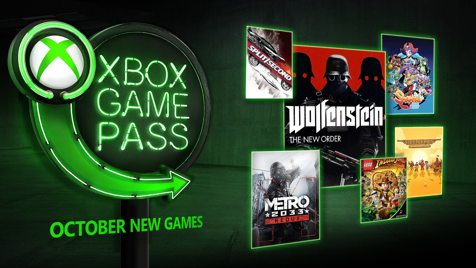Microsoft presenta las novedades de Xbox Game Pass de octubre