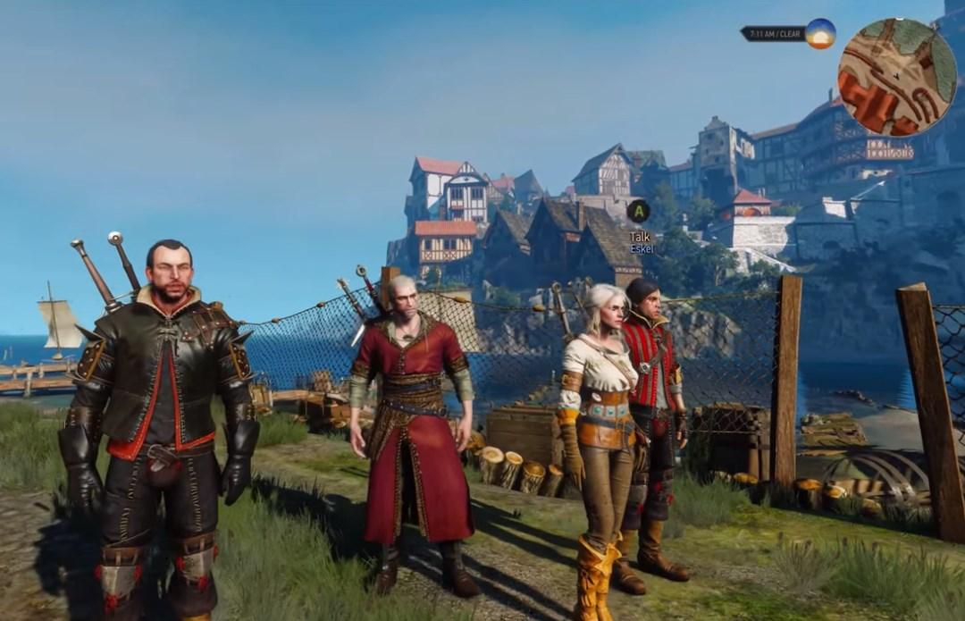 Un nuevo mod de Witcher 3 permite elegir compañeros y usar sus habilidades durante el juego