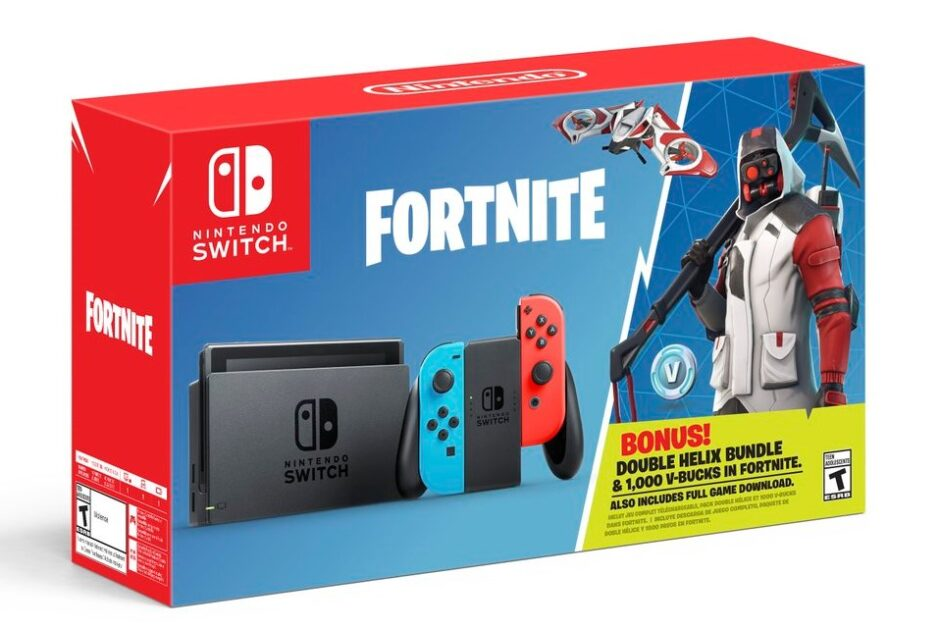 buy fortnite v bucks switch