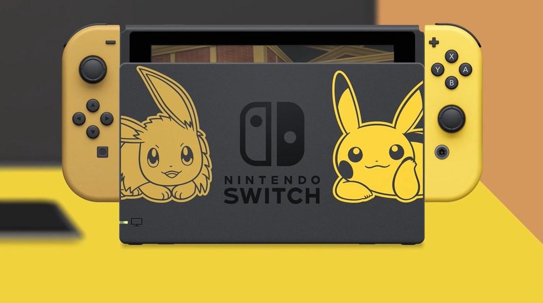 Nintendo lanzará dos versiones especiales de Switch con Pokémon como temática
