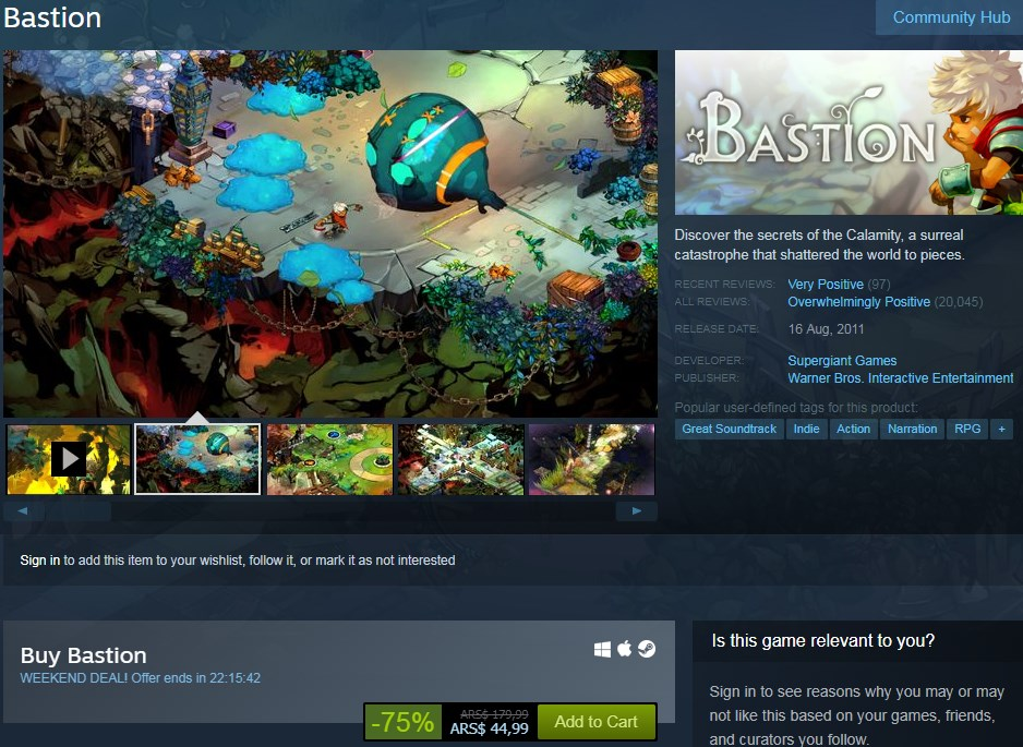 Bastión: una gran oferta