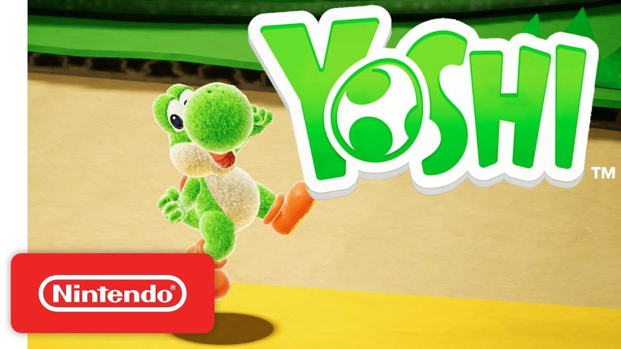 Por un error, Nintendo da a conocer el nombre del próximo juego de Yoshi para Nintendo Switch