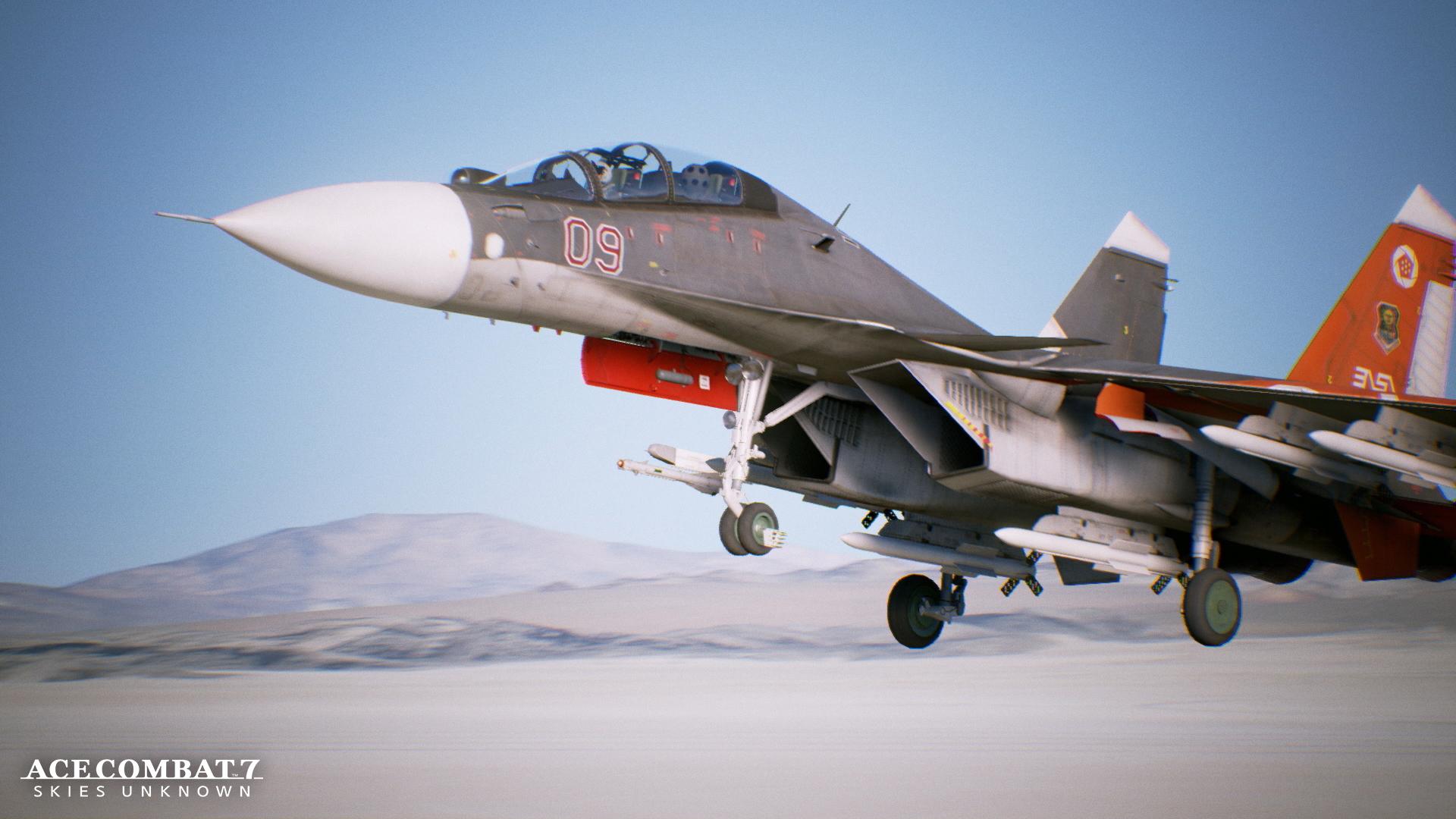 Dos espectaculares videos de Ace Combat 7: Skies Unknown nos muestran el gameplay de las misiones 6 y 7