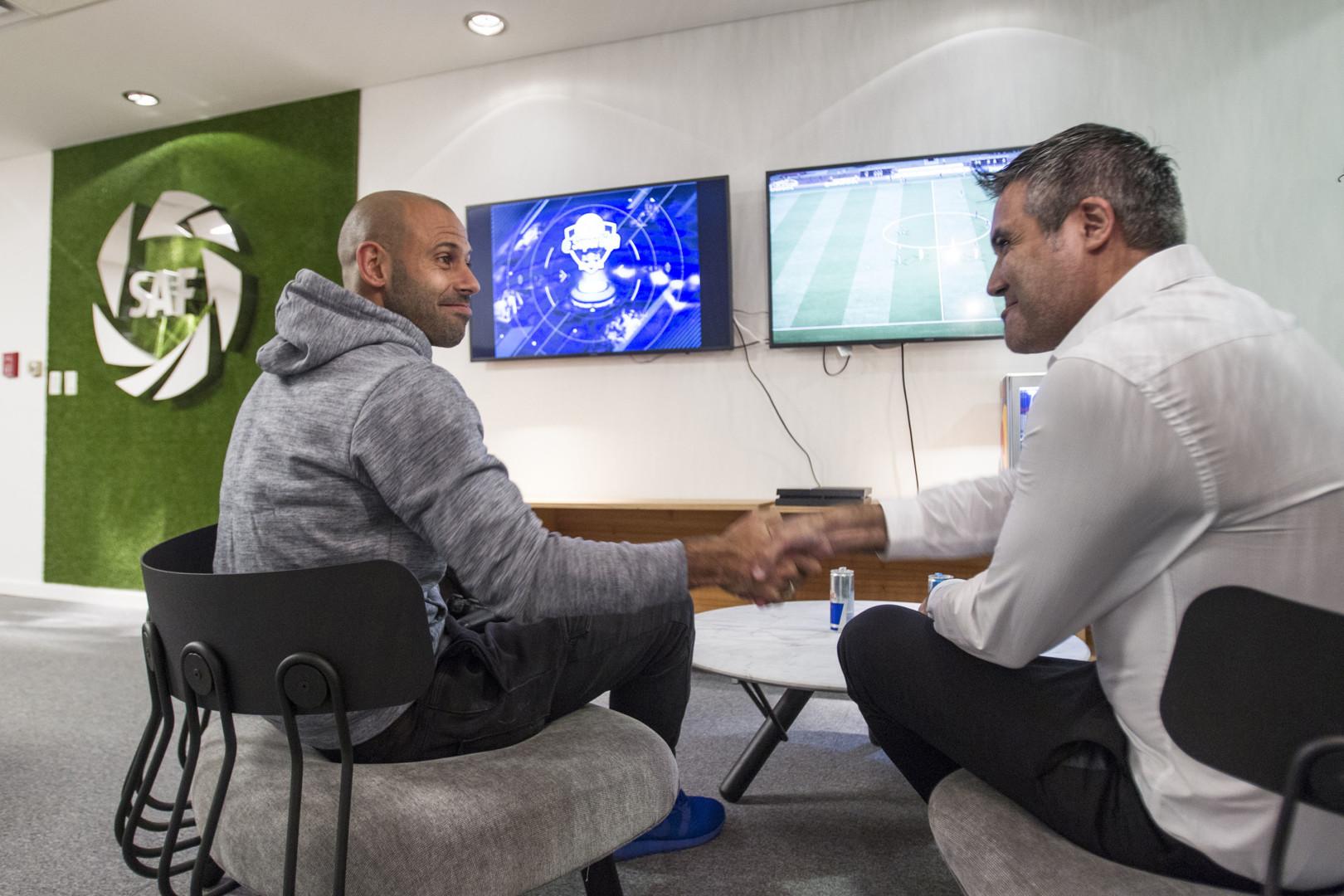 Con Javier Macherano como figura, anuncian la Superliga Argentina de FIFA 19
