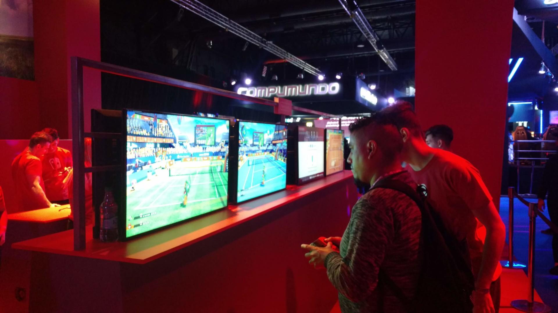 El stand de Nintendo