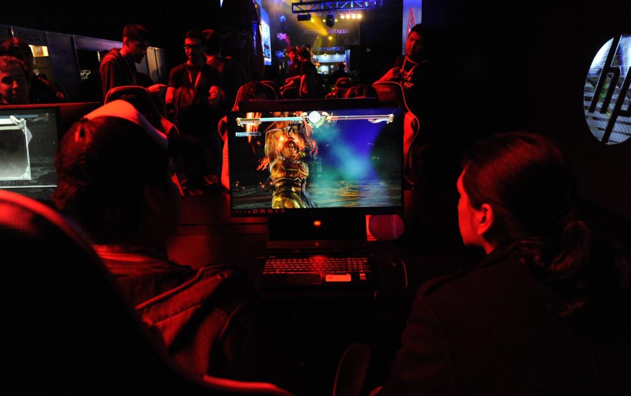 Soul Calibur: hubo torneo en el booth de HP
