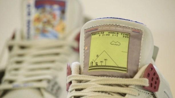 Super Mario Land, en las zapatillas