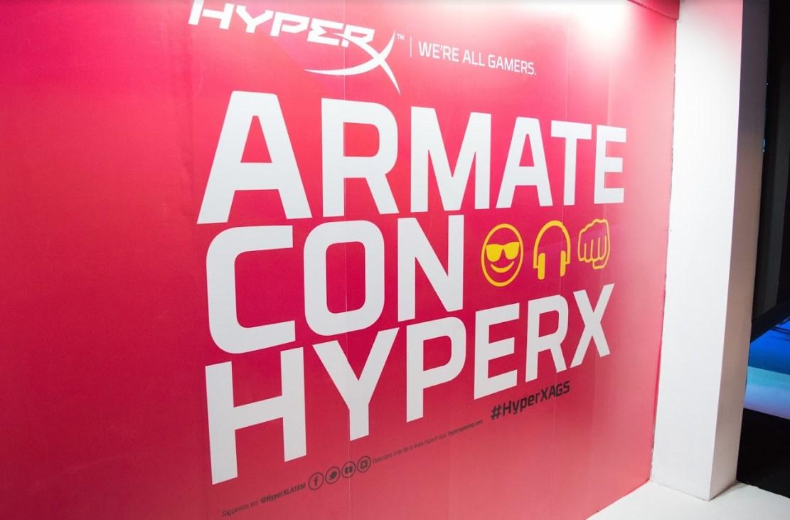 Argentina Game Show: HyperX