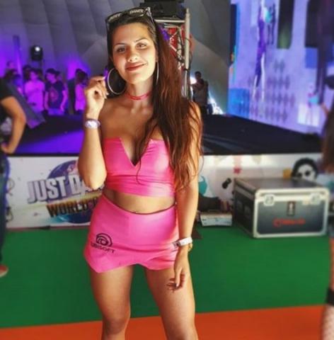 Agostina Ochoa, embajadora de Just Dance en Argentina