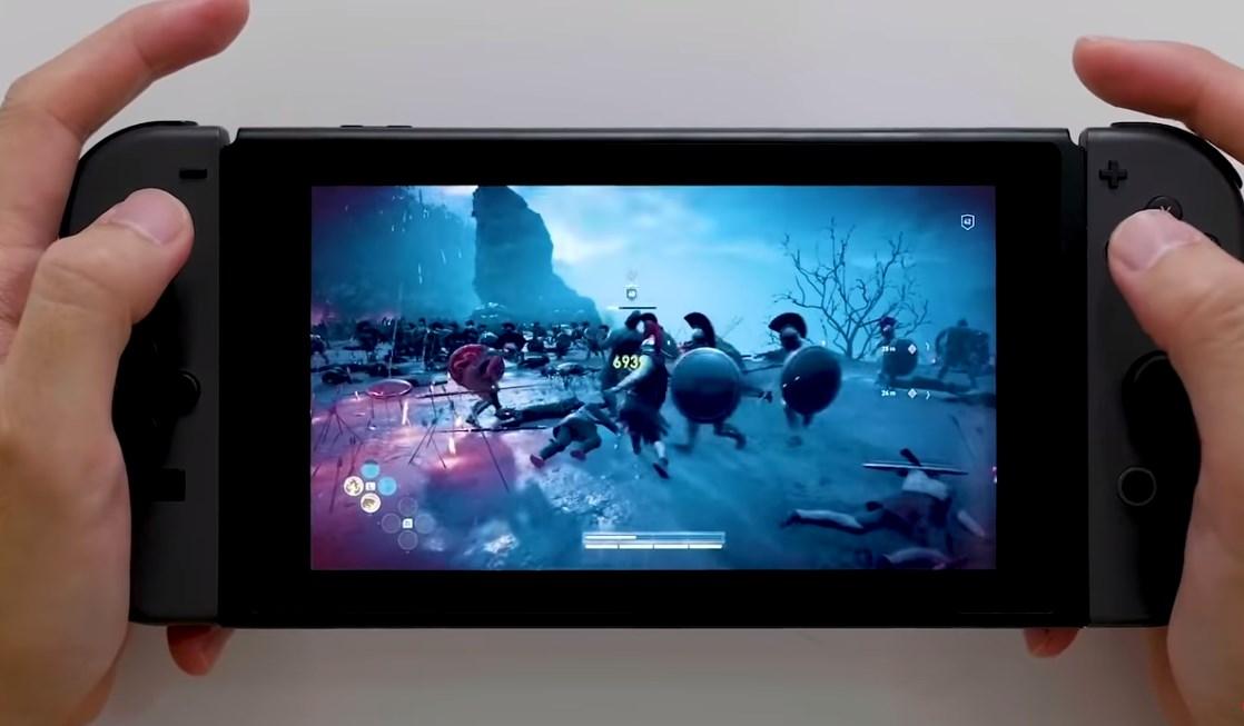 Así se ve Assassin's Creed Odyssey en su versión Cloud para Nintendo Switch: se juega por streaming
