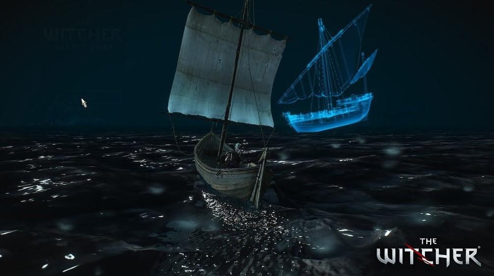 Algunos lo sabían, pero la gran mayoría no: hay un barco fantasma en las aguas de Skellige en The Witcher 3