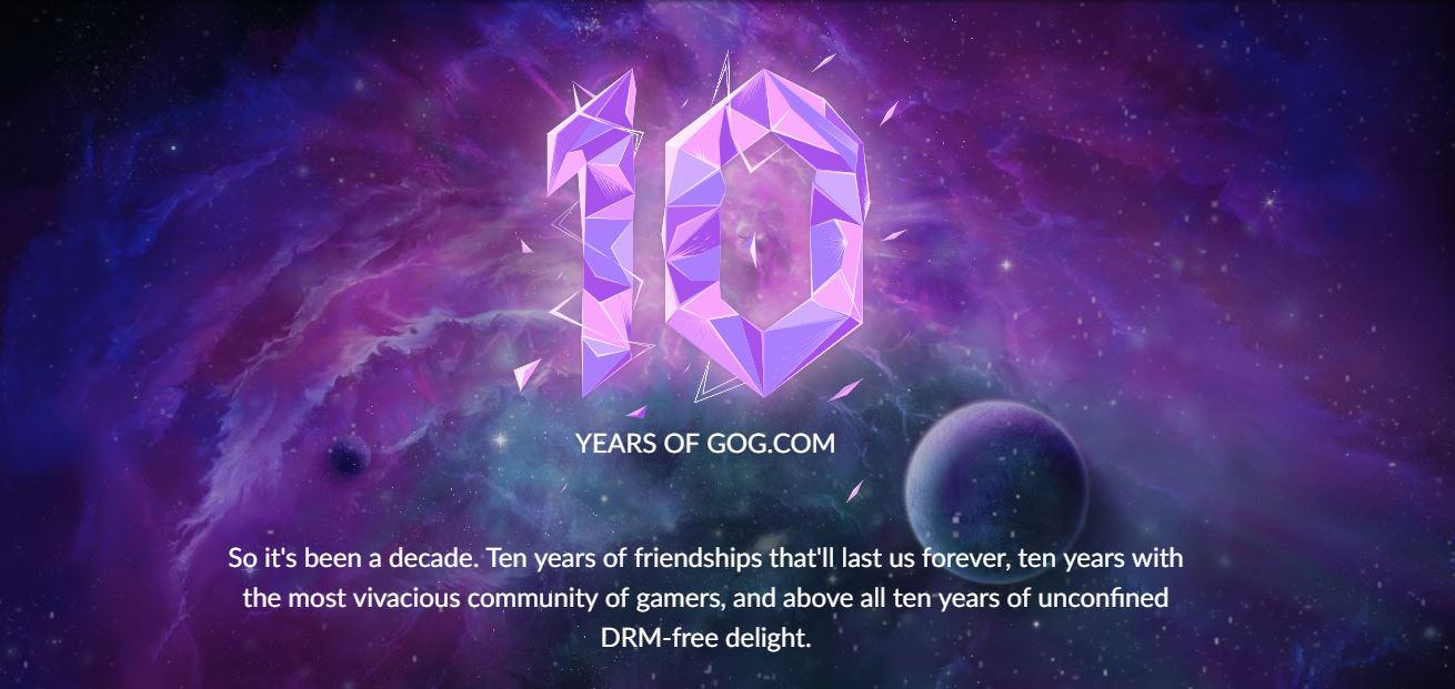 GOG celebra su 10° Aniversario regalando el Juego Ganador de la Votación entre Shadow Warrior 2, Firewatch o Superhot