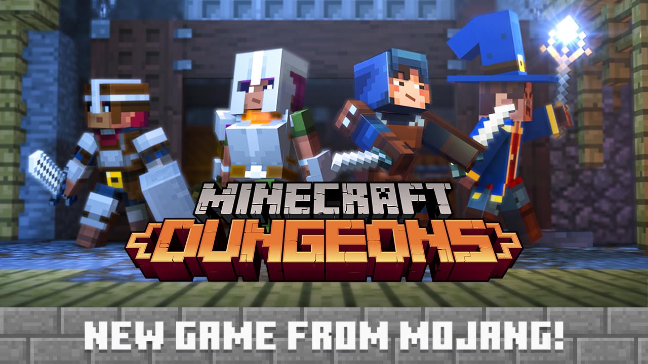 Mojang anuncia Minecraft: Dungeons, junto con una nueva expansión