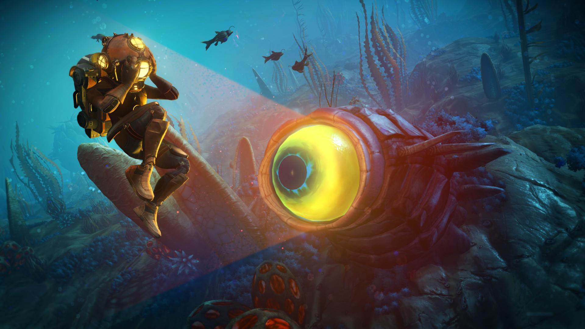 No Man's Sky: llega The Abyss, la nueva actualización gratuita que amplía las profundidades marinas