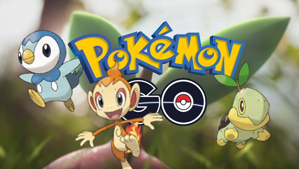 Ya llegaron los primeros Pokémon de la cuarta generación a Pokémon Go