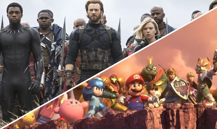 ¿Smash Bros. Infinity War? Un fan mezcló el último tráiler del juego con la película y quedó espectacular