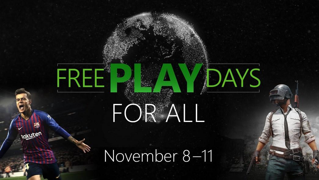 PES 2019 y PUBG gratis: se pueden jugar sin pagar en Xbox One por pocos días